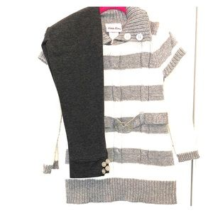 Rare Editions Sweater and Leggings